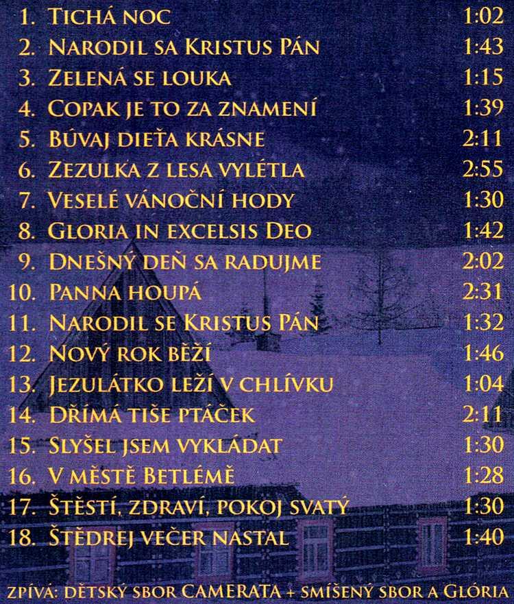 KOLEDY èeské a slovenské CD
