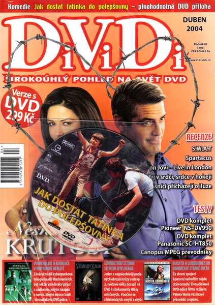 Jak dostat tatínka do polepšovny DVD pøíloha DiViDi + èasopis