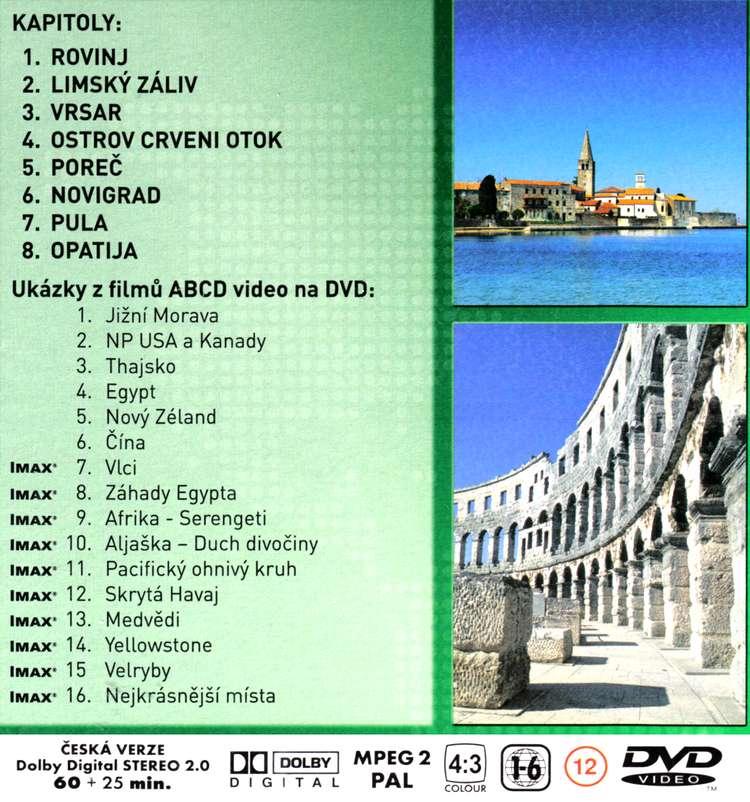 NA CESTÁCH KOLEM SVĚTA 3 ISTRIE dvd