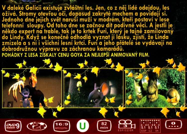 Pohádky z lesa DVD 1
