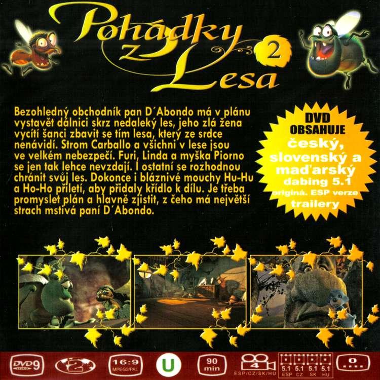 Pohádky z lesa DVD 2