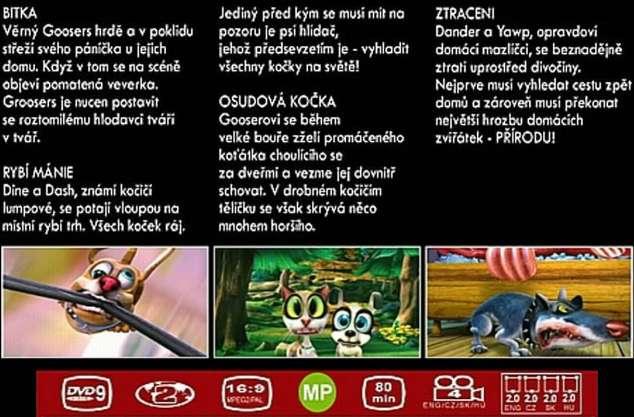 MaZaNé kočky 1. DVD