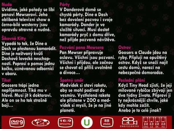 MaZaNé Kočky 5. DVD