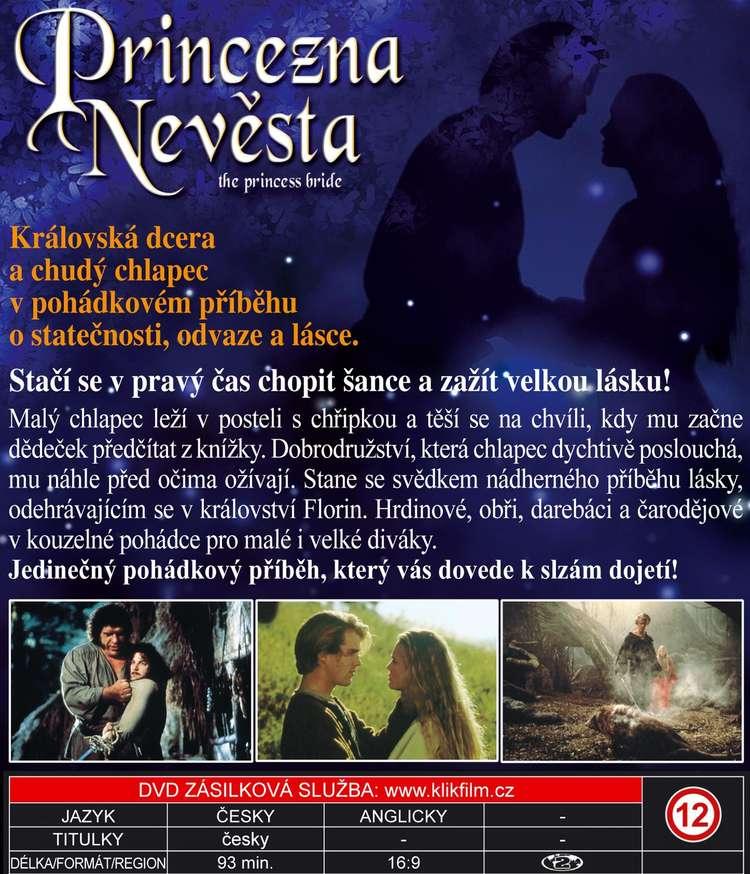 Princezna nevìsta DVD