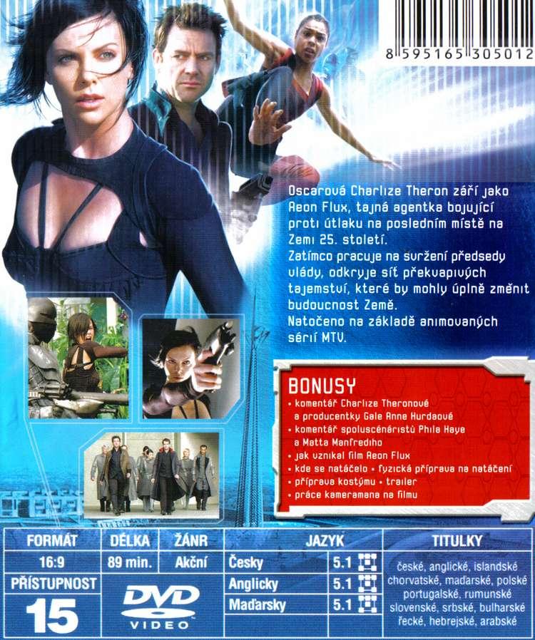 AEON FLUX dvd