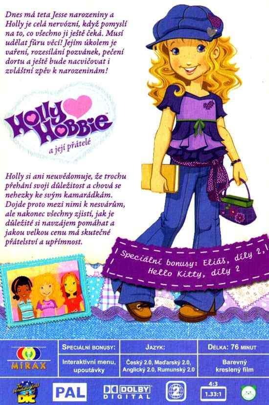 Holly Hobbie a její přátelé DVD Narozeninová párty