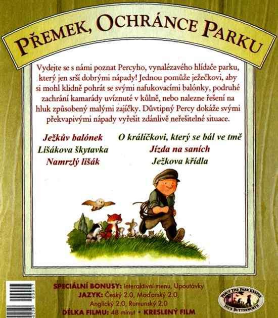 Přemek, Ochránce Parku 1 DVD JEŽKŮV BALÓNEK