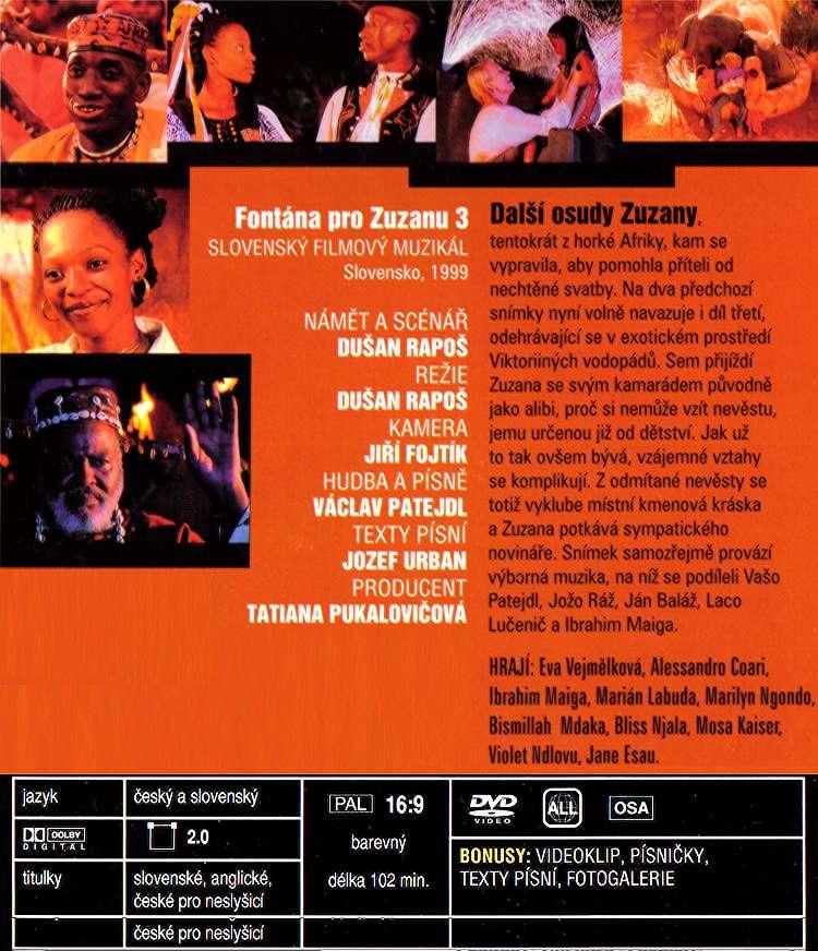 FONTÁNA PRO ZUZANU dvd 3