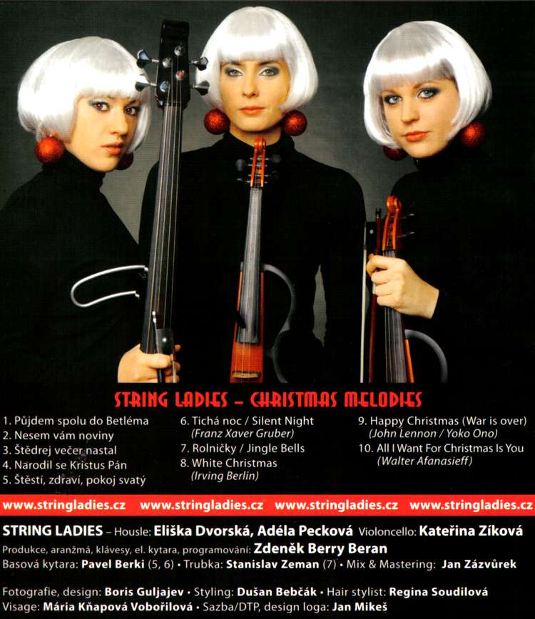 STRING LADIES CHRISTMAS MELODIES CD