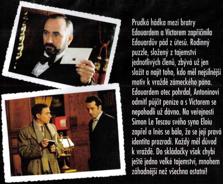 AGATHA CHRISTIE MALÉ RODINNÉ VRAŽDY 4. DVD