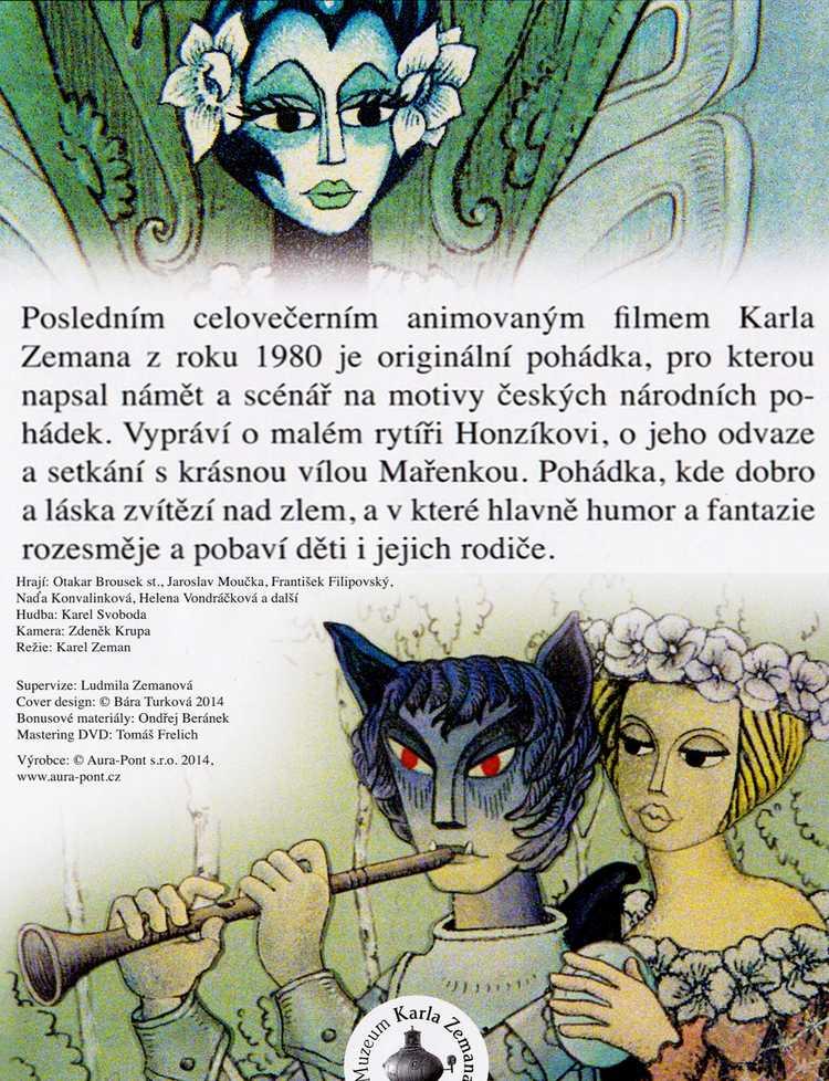 Pohádka o Honzíkovi a Maøence DVD
