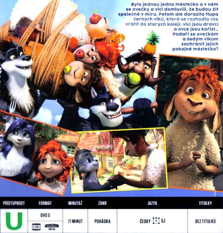Ovečky a vlci: Veliká bitva DVD BOX