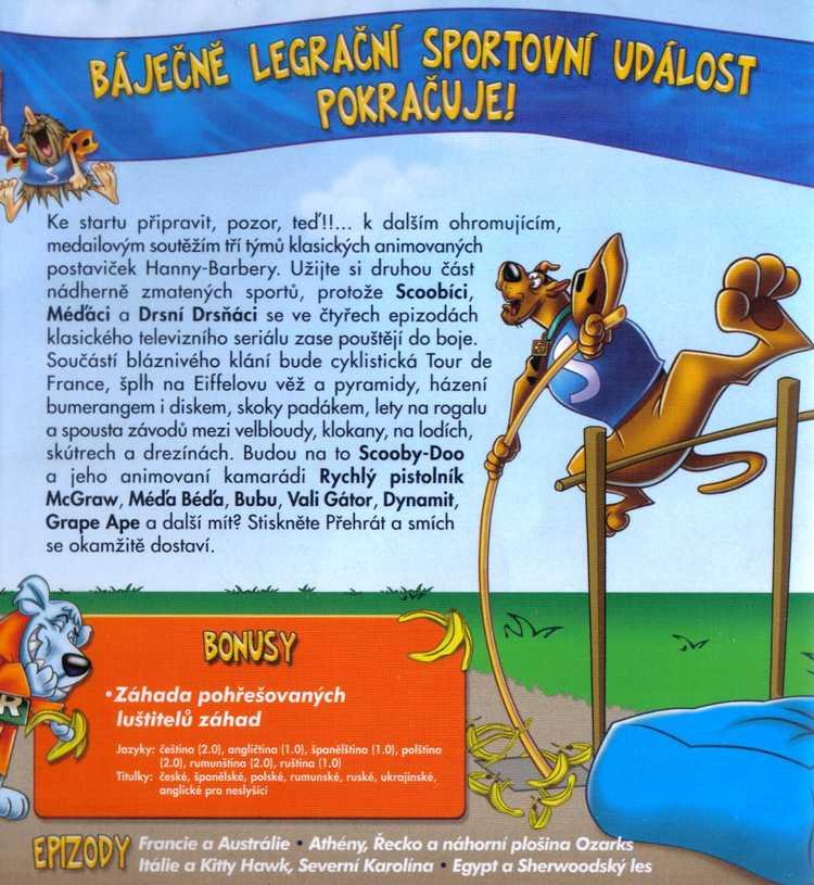 Scooby-Doo na Olympiádě DVD 2. díl