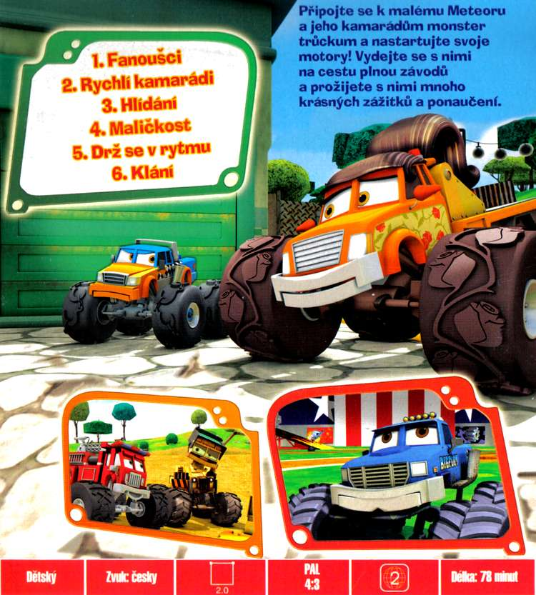 METEOR MONSTER TRUCKS dvd 7